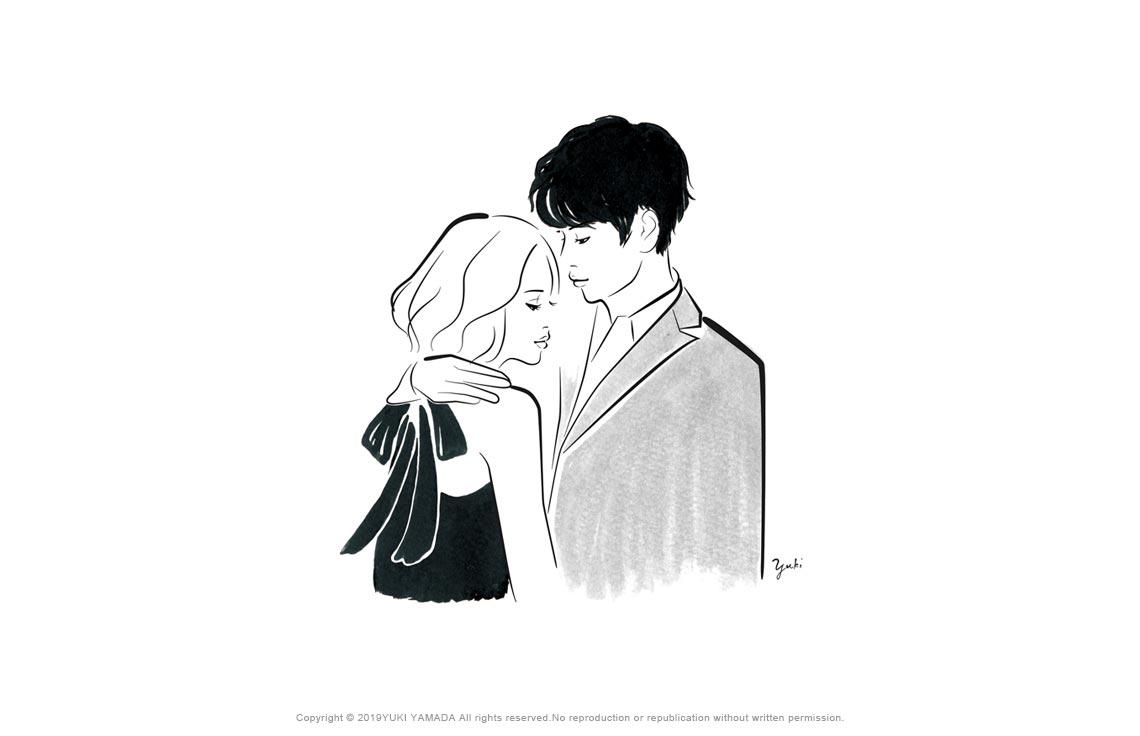 lover(恋人) イラスト