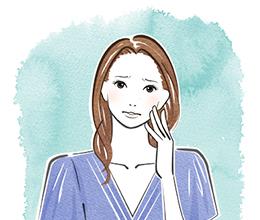 女性のための歯槽膿漏 イラスト
