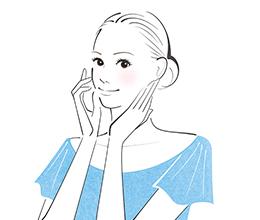 「ムダ美容をやめればキレイになる」カバーイラスト