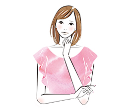女子のライザップ イラスト